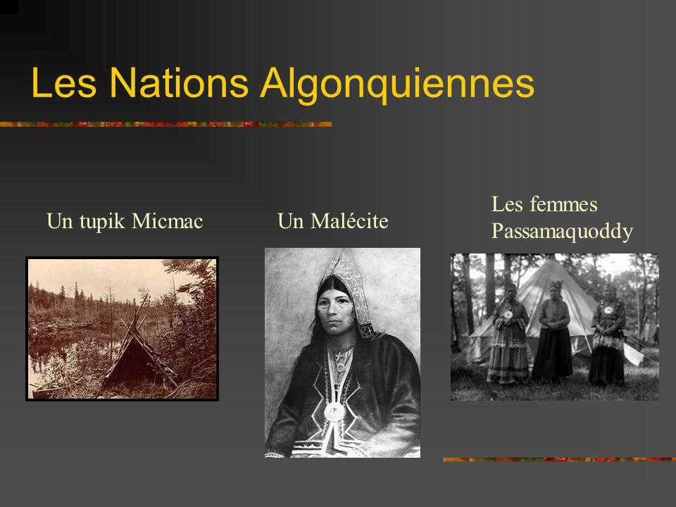 Les Nations Algonquiennes