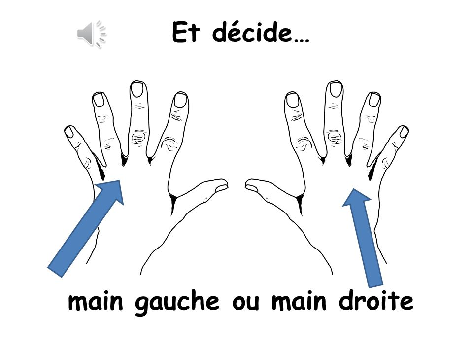 main gauche ou main droite