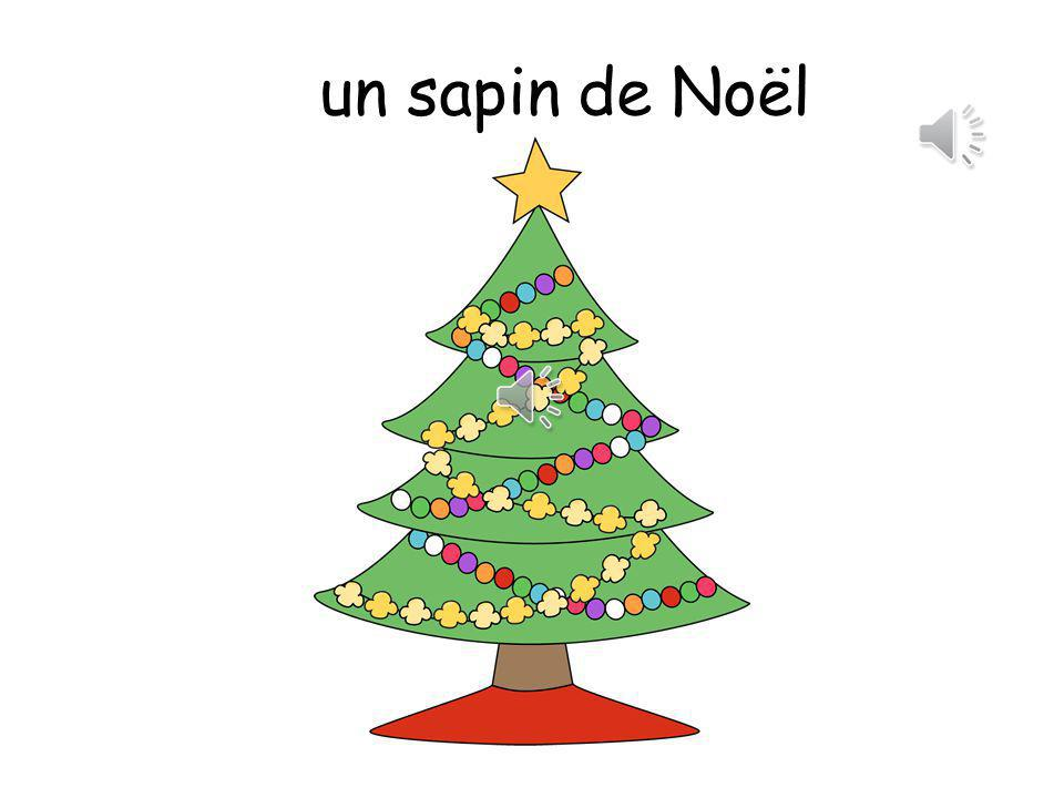 un sapin de Noël This is an adapted version of Oh, Christmas Tree.