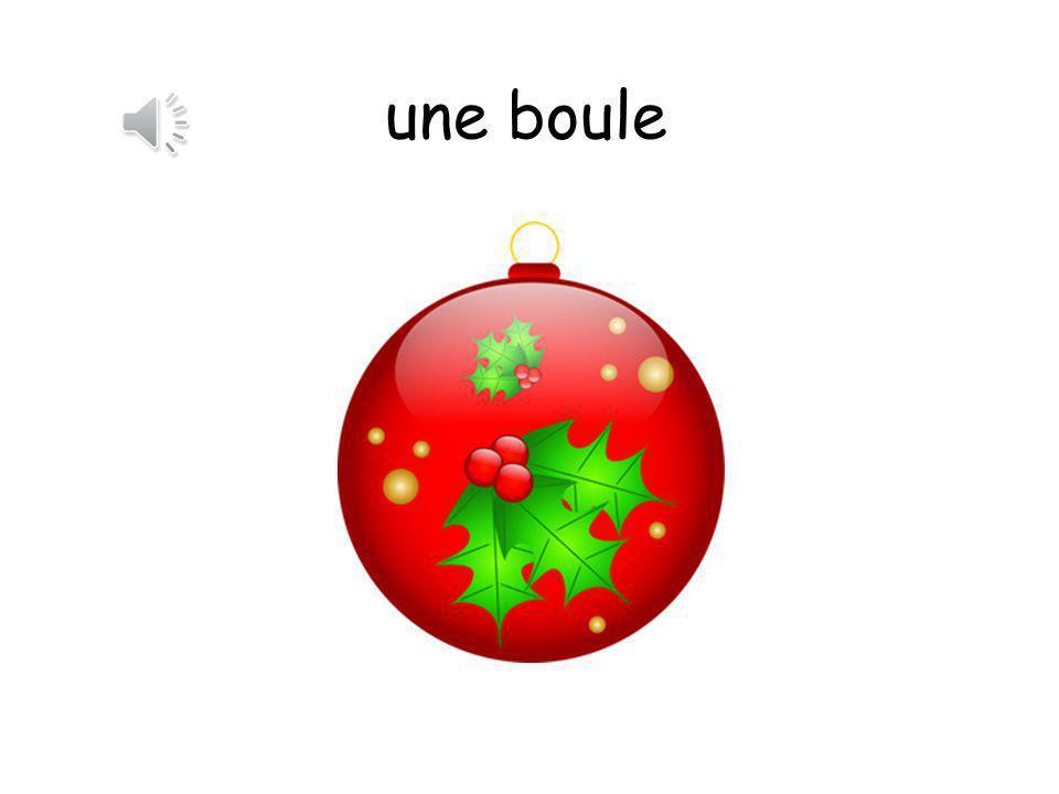une boule