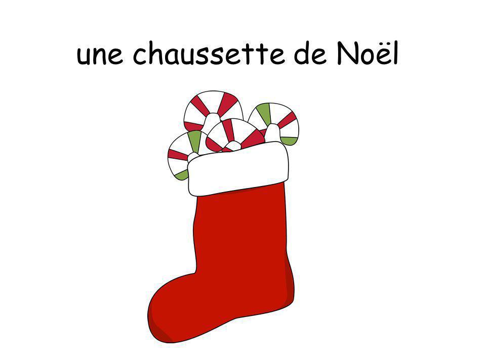 une chaussette de Noël