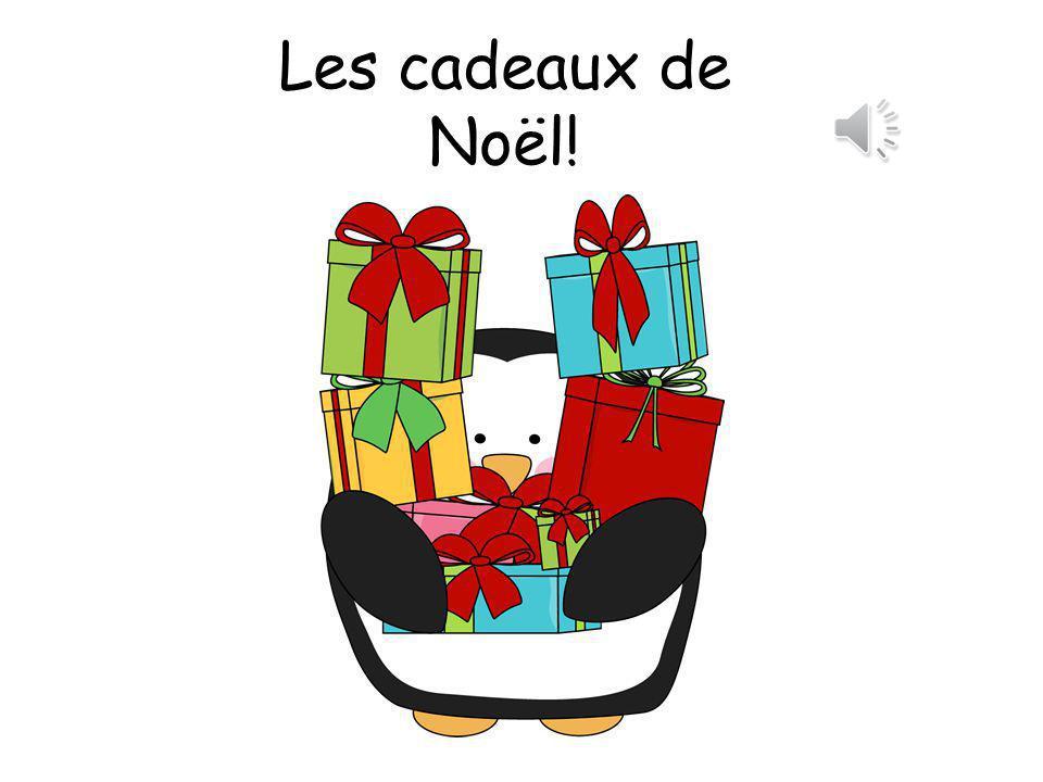Les cadeaux de Noël!