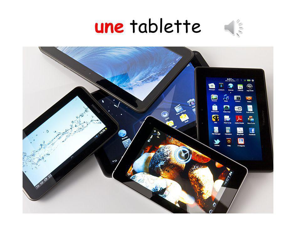 une tablette