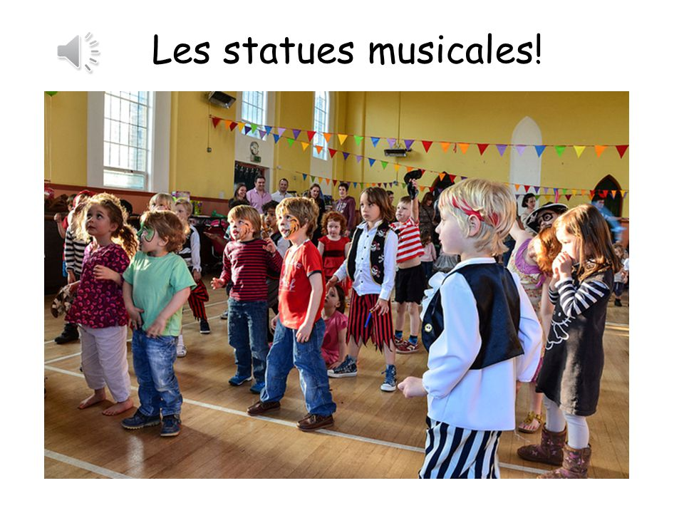 Les statues musicales! Musical statues