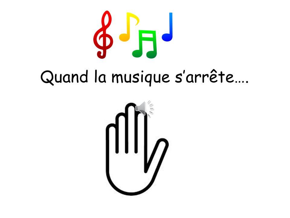 Quand la musique s'arrête….
