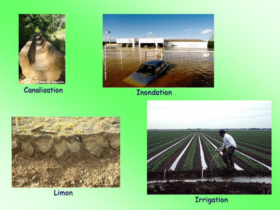 Canalisation Inondation Limon Irrigation