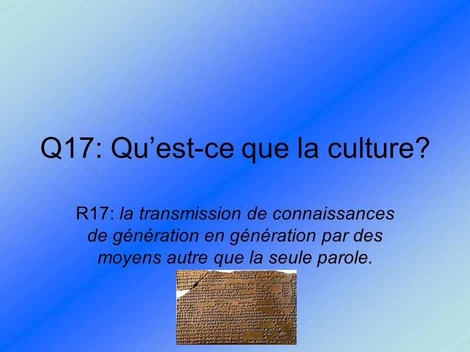 Introduction aux anciennes civilisations ppt video for Qu est ce que la lasure