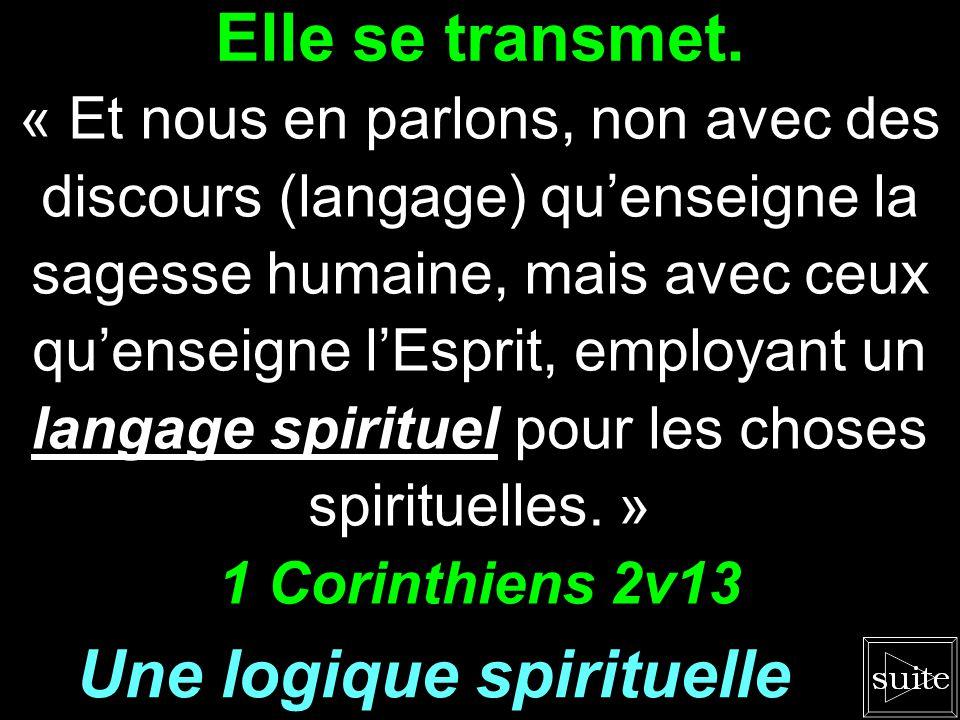 Une logique spirituelle
