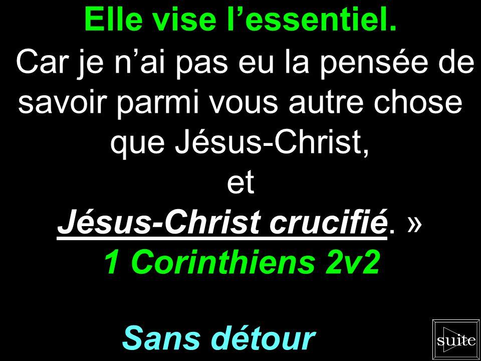 Jésus-Christ crucifié. »