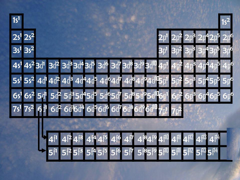 1s1 1s2. 2s1. 2s2. 2p1. 2p2. 2p3. 2p4. 2p5. 2p6. 3s1. 3s2. 3p1. 3p2. 3p3. 3p4. 3p5. 3p6.