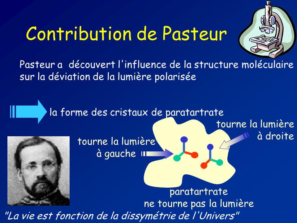 Contribution de Pasteur