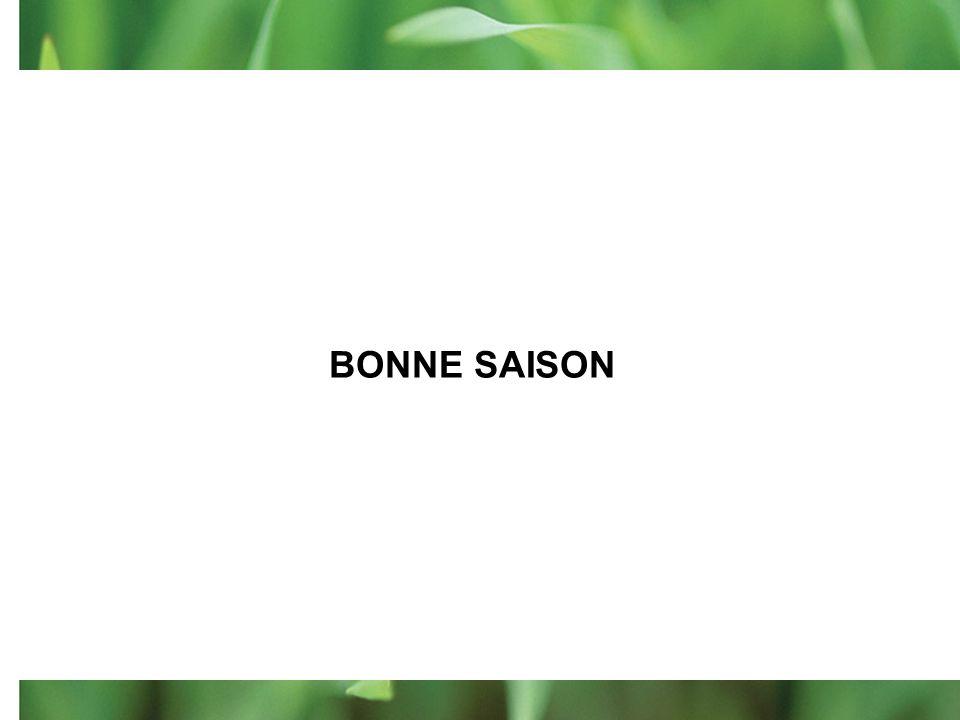 BONNE SAISON