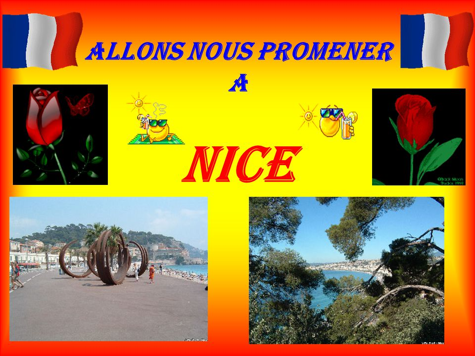 Allons nous promener a Nice