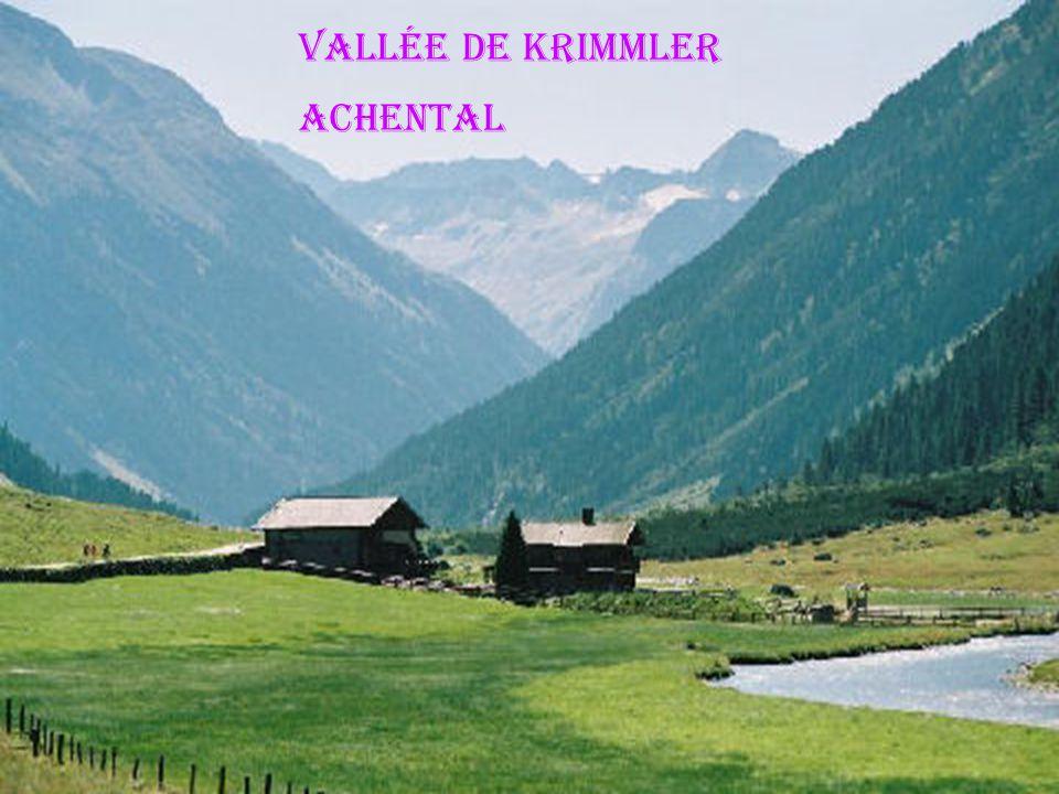 Vallée de Krimmler Achental