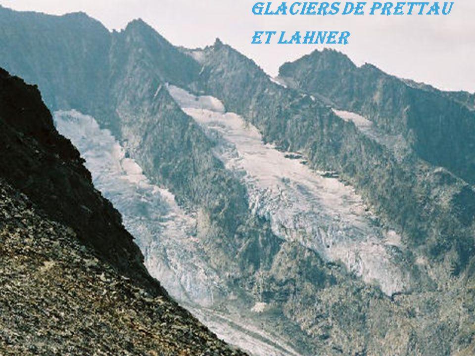 Glaciers de Prettau et Lahner