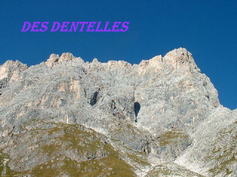 Des Dentelles