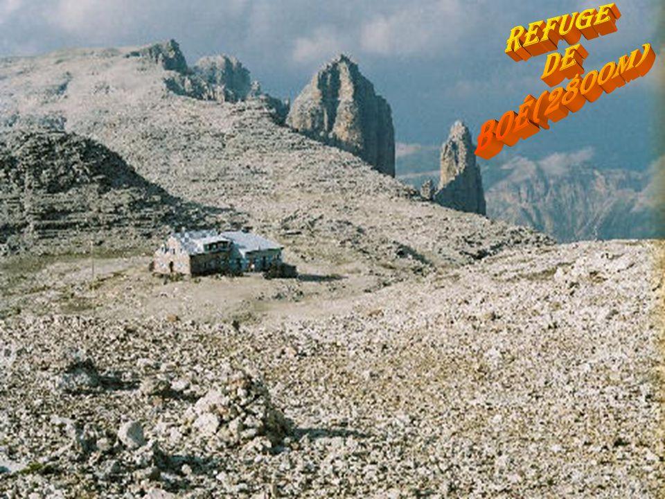 refuge de boé(2800m)