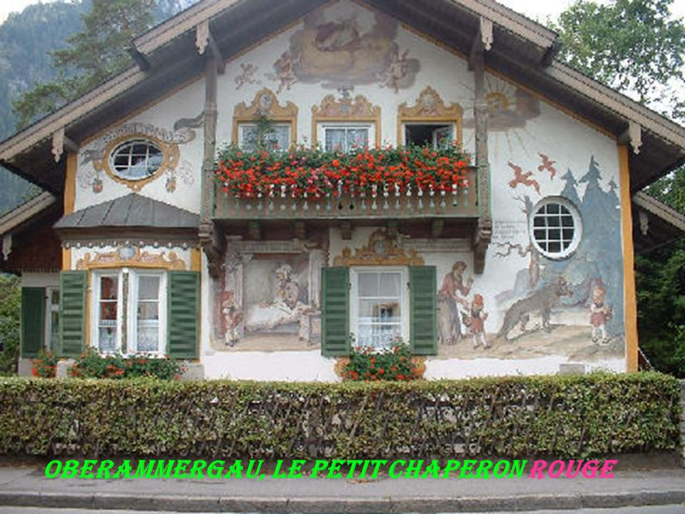 Oberammergau, Le petit chaperon rouge