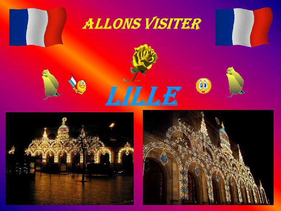Allons visiter LILLE