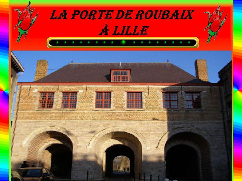 La porte de Roubaix à Lille