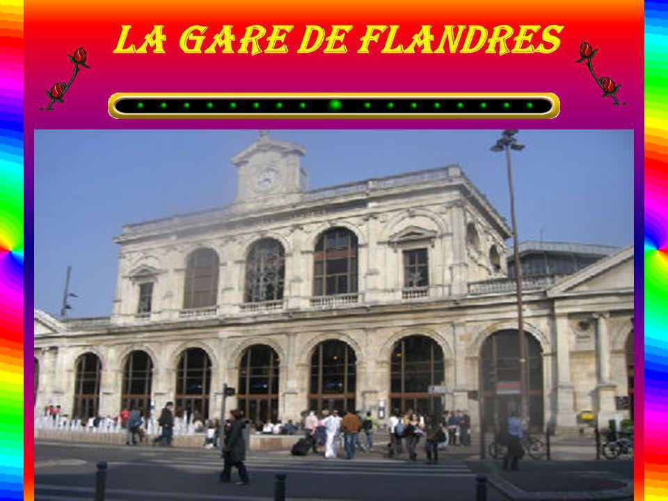 La gare de flandres