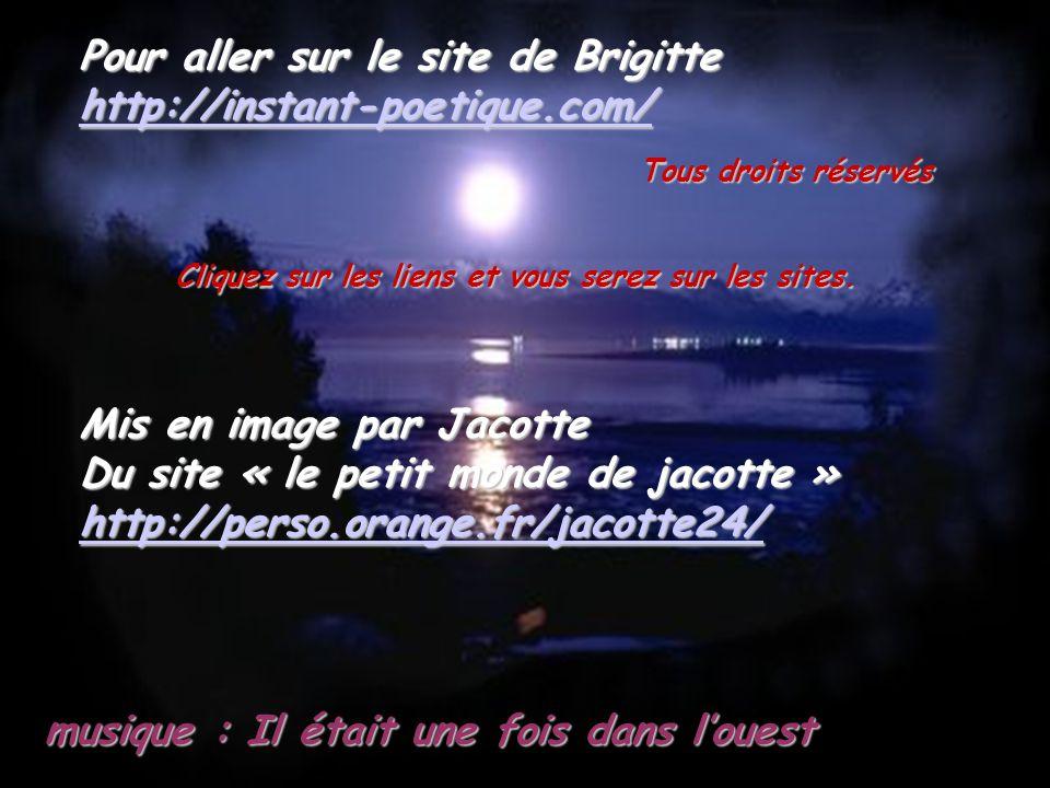 Pour aller sur le site de Brigitte http://instant-poetique.com/