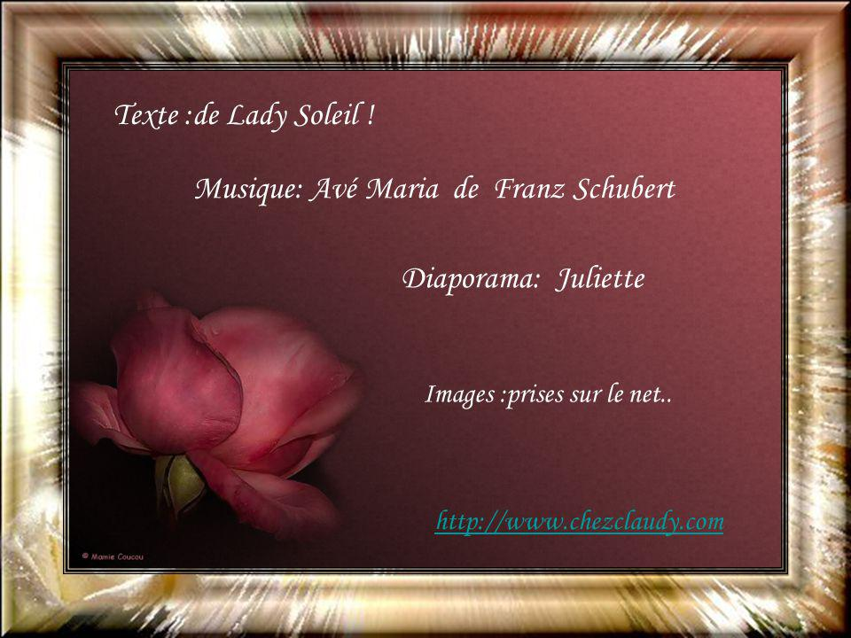 Musique: Avé Maria de Franz Schubert