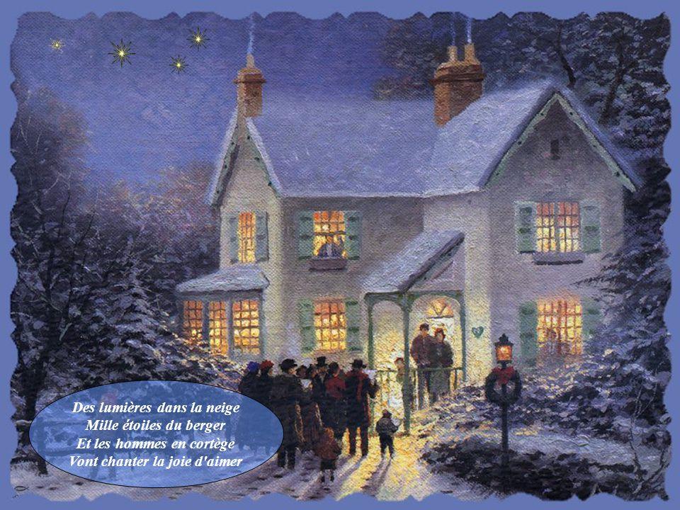 Des lumières dans la neige Mille étoiles du berger