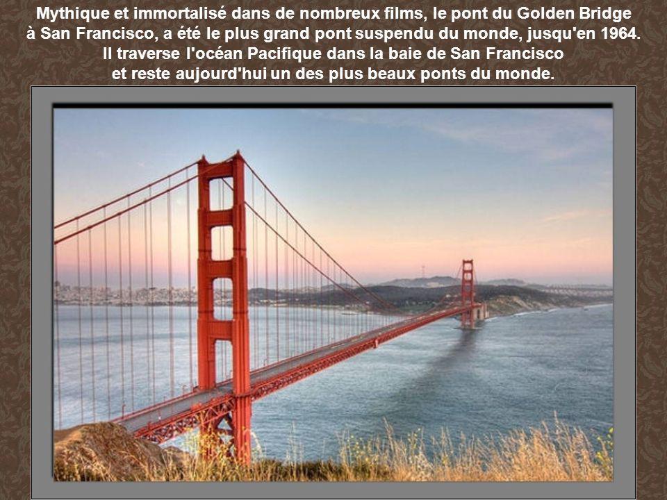 Il traverse l océan Pacifique dans la baie de San Francisco