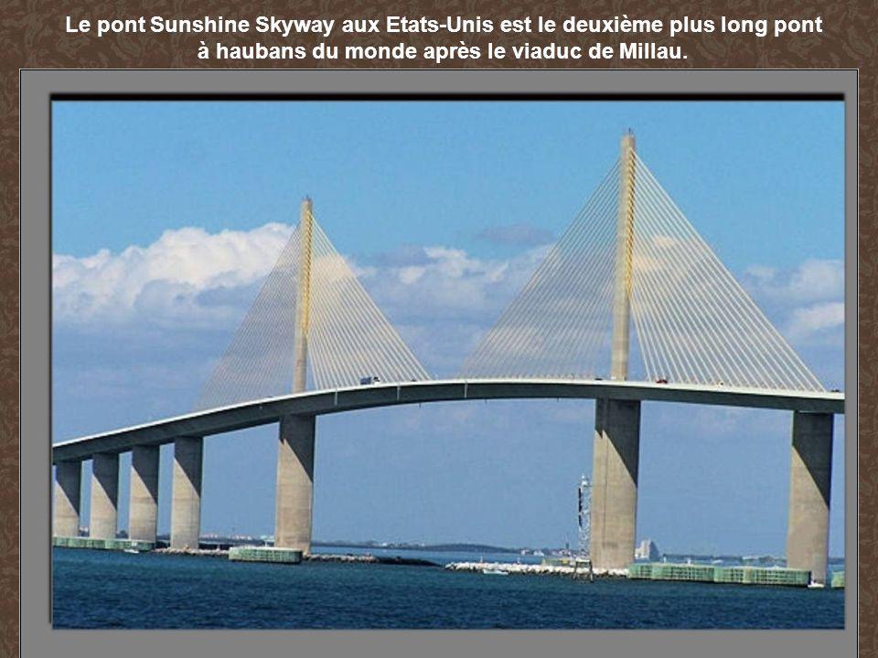 Le pont Sunshine Skyway aux Etats-Unis est le deuxième plus long pont