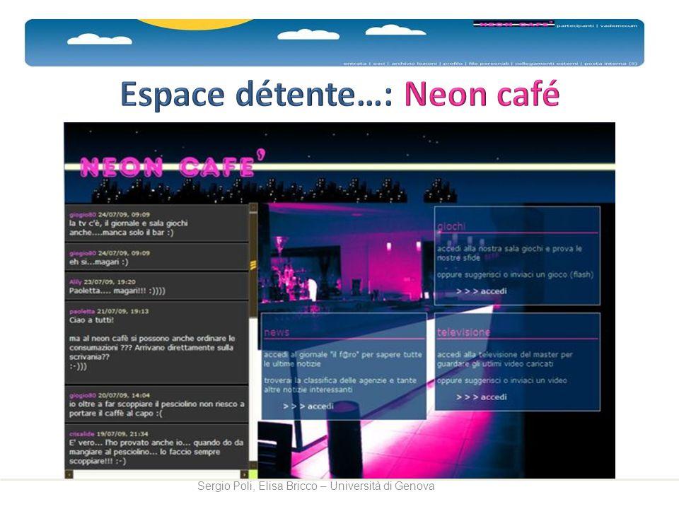 Espace détente…: Neon café