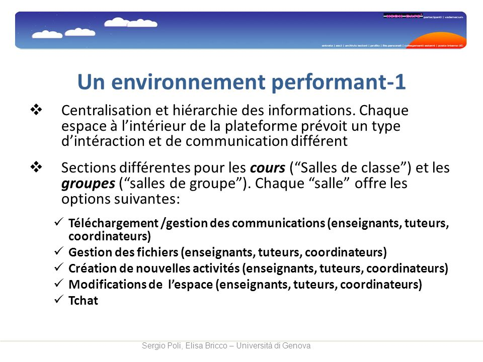 Un environnement performant-1