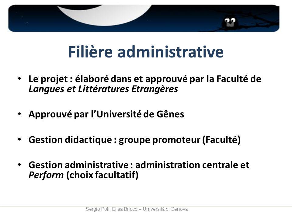 Filière administrative