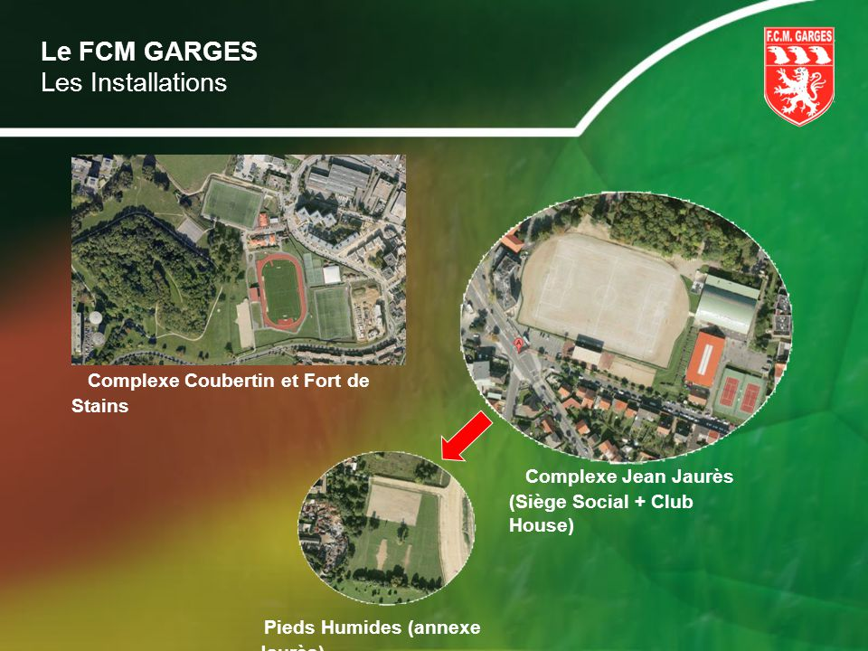 Complexe Coubertin et Fort de Stains