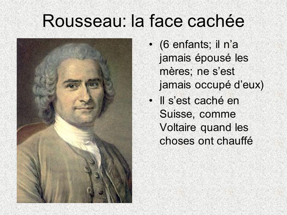 Rousseau: la face cachée