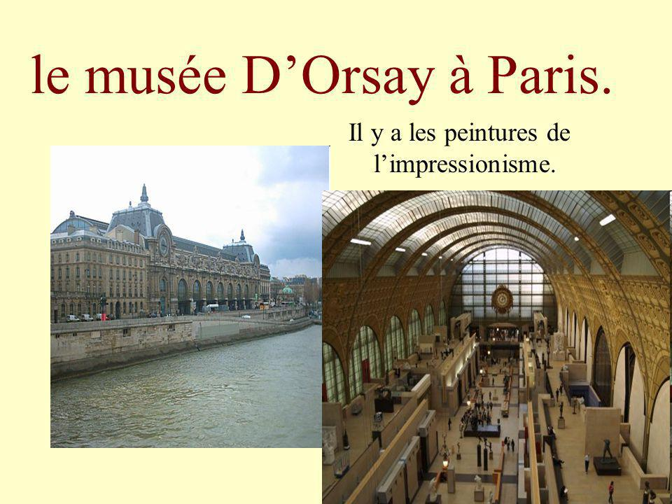 le musée D'Orsay à Paris.