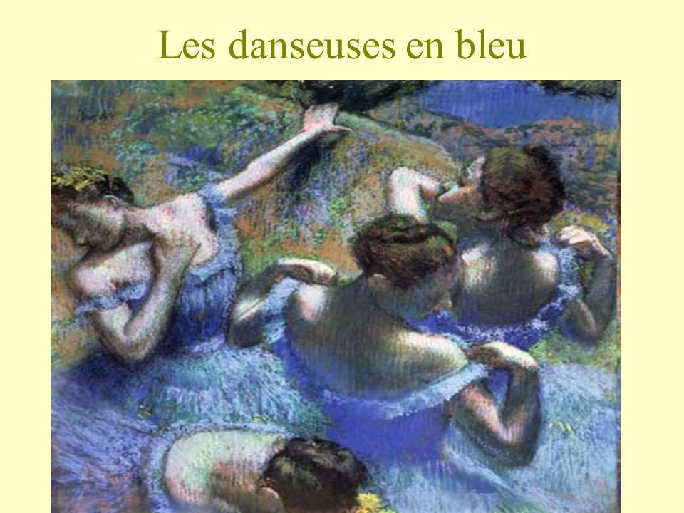 Les danseuses en bleu