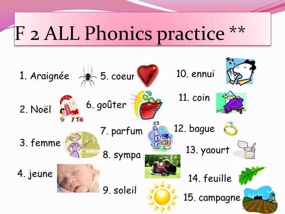 F 2 ALL Phonics practice **