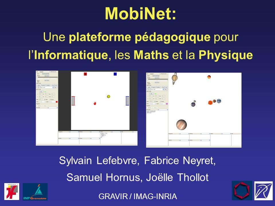 MobiNet: Une plateforme pédagogique pour