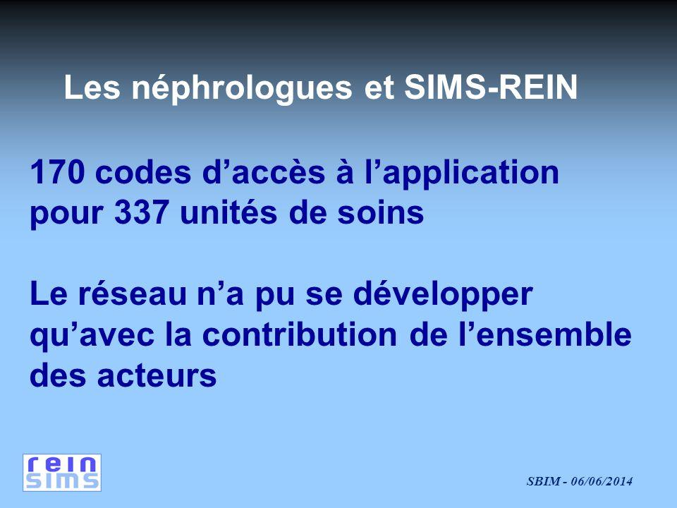 Les néphrologues et SIMS-REIN