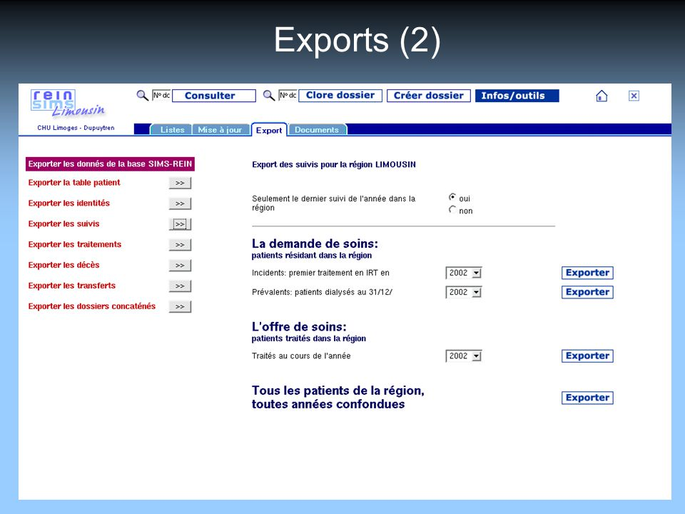 Exports (2)