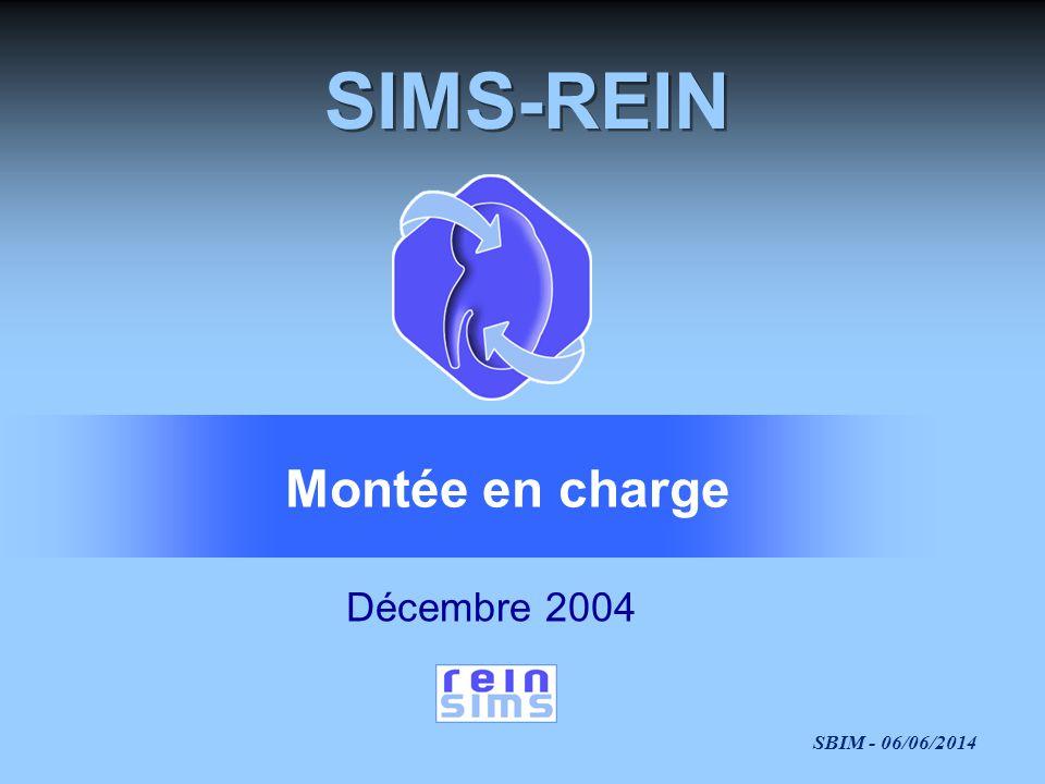 SIMS-REIN Montée en charge Décembre 2004