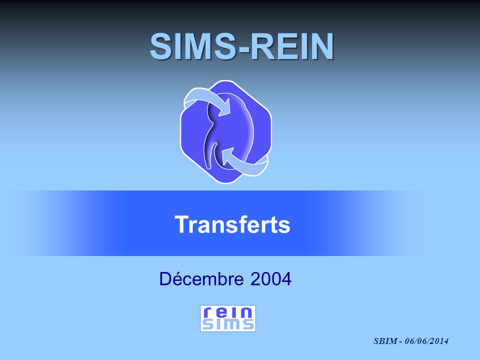 SIMS-REIN Transferts Décembre 2004