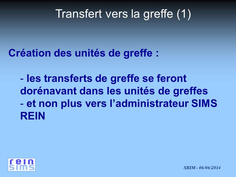 Transfert vers la greffe (1)