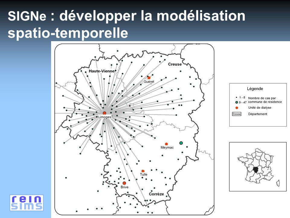 SIGNe : développer la modélisation