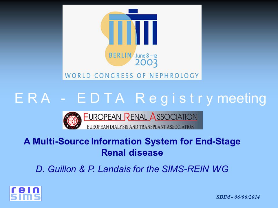 A Multi-Source Information System for End-Stage Renal disease