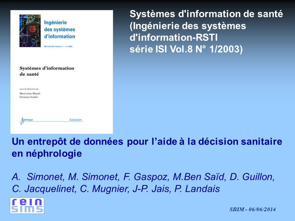 Systèmes d information de santé