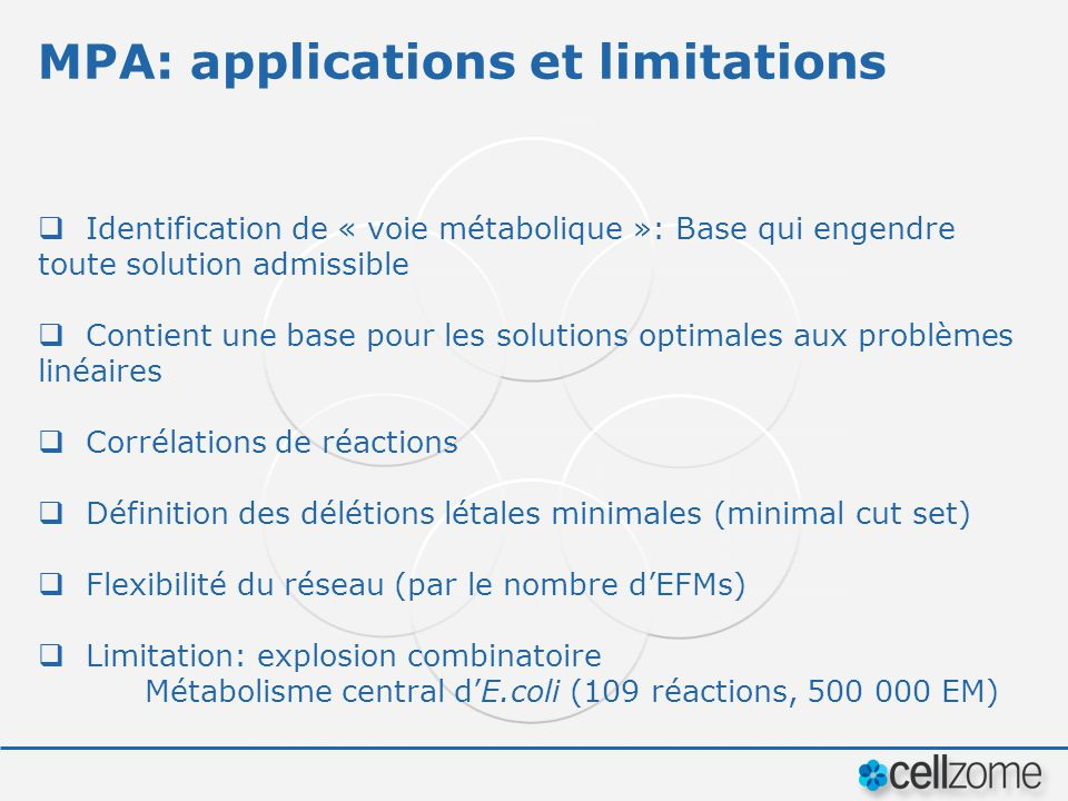 MPA: applications et limitations