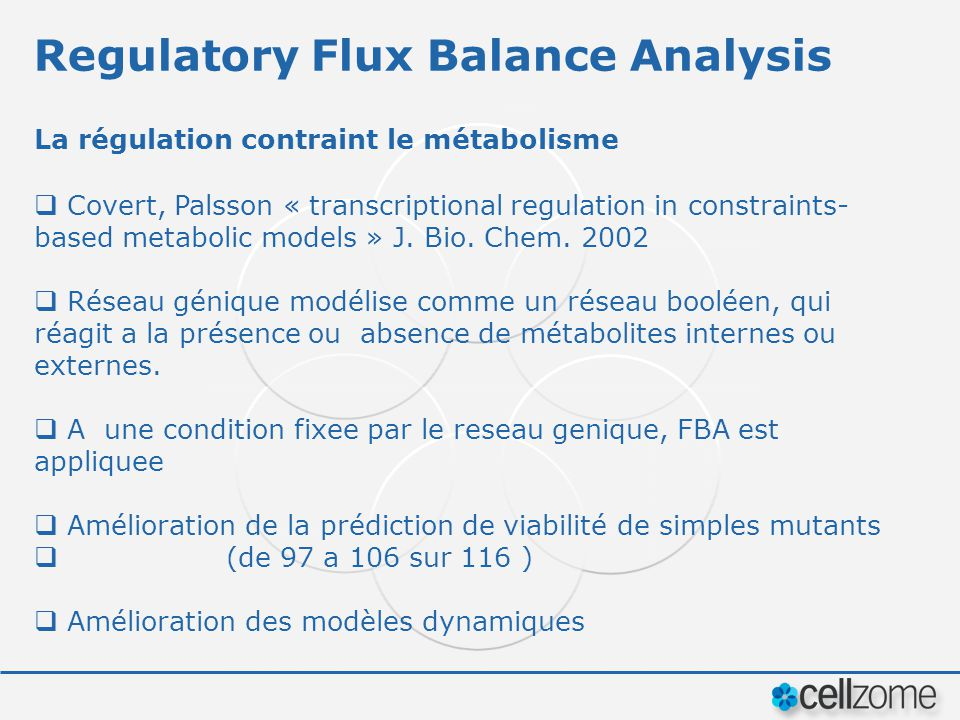 Regulatory Flux Balance Analysis