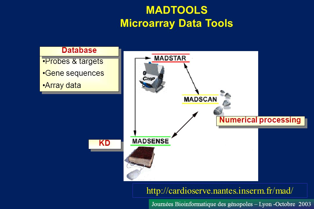MADTOOLS Microarray Data Tools
